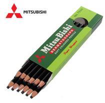 Lápis Dermatográfico Mitsubishi 7600 Preto Com 12 Lapis -