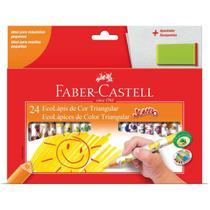 Lapis Ecolapis 24 Cores Decorado - Faber-Castell