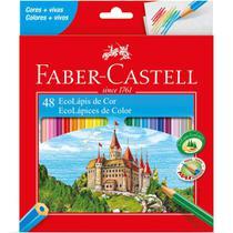 Lapis Ecolapis 48 Cores (7891360458166) - Faber-Castell