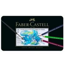 Lápis Faber-Castell Albrecht Durer Aquarelável - Estojo Metálico com 120 Cores - Ref 117511 - Faber Castell