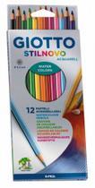 Lápis Giotto Stilnovo Aquarelável 12 Cores -