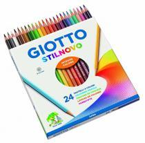Lápis Giotto Stilnovo Aquarelável 24 Cores -