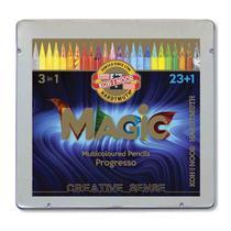 Lapis Integral Multi Colorido Progresso Magic Koh-I-Noor 23+1 -
