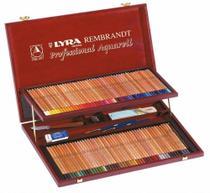Lapis lyra rembrandt professional aquarell 100 cores -
