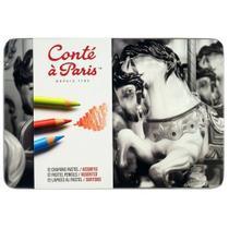 Lapis pastel seco c.12 cores-12627 - Conte A Paris