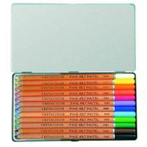 Lapis Pastel Seco Fine Art Pastel 12 Cores Cretacolor -