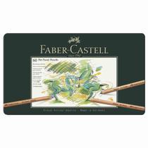 Lapis Pastel Seco Pitt Faber Castell 60 Cores -