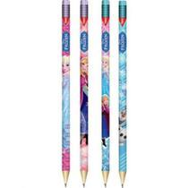 Lápis Preto N2 Com Borracha Frozen Tris -