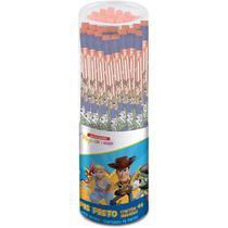 Lapis preto redondo decorado toy story c/ borracha pote 48 unidades - SUMMIT