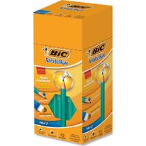Lapis Preto Sextavado Evolution 2HB C/BORRACHA (070330413986) - BIC