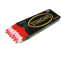 Lápis Vemelho Mágico Para Marcar Tecido - 12 Unidades - Standard