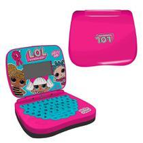 Laptop Infantil Para Crianças Bilíngue Rosa Candide -