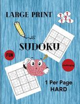 Large Print Sudoku 1 Per Page Hard - Mihai-Radu Sacareanu