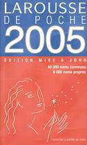 Larousse de poche 2005 - Larousse (Francesa)