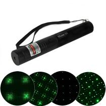Laser Pointer Green, 10.000mw Recarregável - Wd