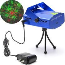 Laser Projetor Luzes Holográfico Mini Decoração De Natal Festas Balada Iluminação xl4gb Bivolt - Lx