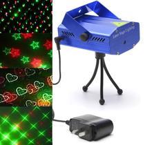 Laser Projetor Luzes Holográfico XLS Mini Decoração De Natal Festas Balada Iluminação Bivolt - Lx