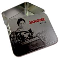Lata Decorada Janome -