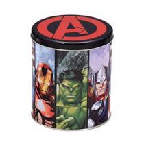 Lata Marvel Vingadores13x13x15cm -