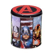 Lata Marvel Vingadores17x17x19cm -