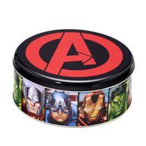 Lata Marvel Vingadores20x20x8cm -