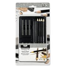 Lata Pequena Grafite  Graphite Sketching Art Set Royal & Langnickel RSET-ART2502 -