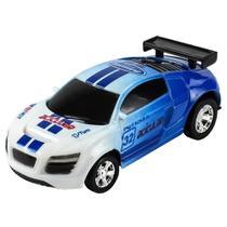 Lata Racing Carrinho de Controle Remoto Lata Azul Claro - Dtc