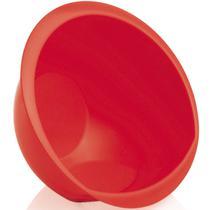 Lava Arroz Escorredor Água Legumes Verduras Polipropileno OU Vermelho -