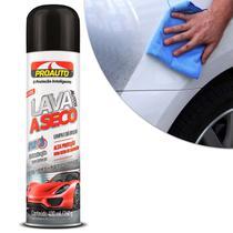 Lava Autos a Seco Spray com Cera de Carnaúba Limpa e da Brilho 400ml Proauto -