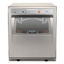 Lava Louças 8 Serviços Brastemp Compacta Prata com Ciclo Pesado - BLF08AS -