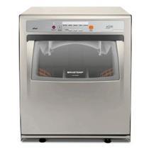 Lava-louças Brastemp Ative 8 Serviços Prata 110V BLF08ASANA -