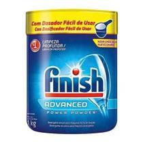 Lava-louças Detergente Finish 1kg Advanced Power Powder -