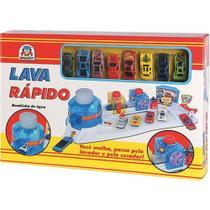 Lava Rapido C/8 Carrinhos 7505- Braskit -