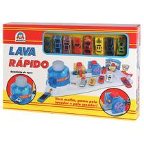 Lava Rápido de Brinquedo Com 8 Carrinhos 7505 - Braskit -