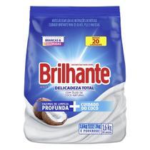 Lava-Roupas Brilhante Em Pó Com Óleo De Coco Natural - 1.6KG -