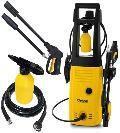 Lavadora de Alta Pressão 1400W com Shampoozeira, Rodas e Alça Longa HLX TEKNA - 220V -