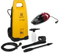 Lavadora de Alta Pressão Electrolux Power Wash Eco Plus EWS 31 Kit Aspirador  110V
