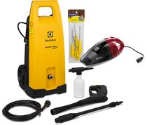 Lavadora de Alta Pressão Electrolux Power Wash Eco Plus EWS 31 Kit Completo  220V