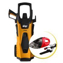 Lavadora de Alta Pressão WAP 1750W Lider 2200 + Brinde Aspirador Portátil P/ Auto Wap Car -