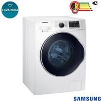 Lavadora de Roupas 11 Kg Samsung Eco Bubble Branca com 12 Programas de Lavagem - WW11K6800AW -