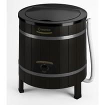Lavadora de Roupas Wanke 5Kg Semiautomática Tradicional Black 110V -