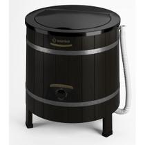 Lavadora de Roupas Wanke 5kg Tradicional Timer com 3 Programas de Lavagem Preto - 220V -