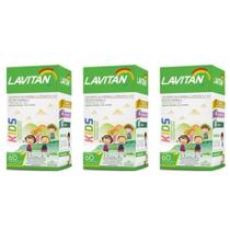 Lavitan Kids Suplemento Vitamínico C/60 (kit C/03) -