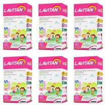 Lavitan Kids Suplemento Vitamínico Tutti Frutti C/60 (kit C/06) - Cimed