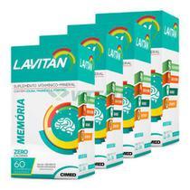 Lavitan Kit 4x Memoria 60 Comp - Cimed