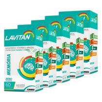 Lavitan Kit 5x Memoria 60 Comp - Cimed