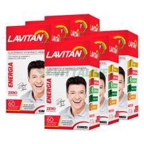 Lavitan Kit 6x Energia 60 Comp - Cimed