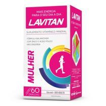 Lavitan Mulher Suplemento Vitamínico C/60 (38759) -