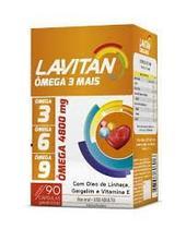 Lavitan Omega 3, 6, 9 com 90 Cápsulas Cimed -