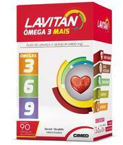 Lavitan Ômega 3 Mais(3,6,9) 4800mg 90 Cápsulas - Cimed
